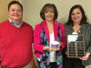 HHHC 2015 Dawn White Volunteer Fundraisers of the Year Blue Stocking Club