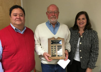 HHHC 2015 Volunteer of the Year Gary McGeough