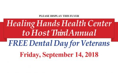 3rd Annual Free Dental Day for Veterans