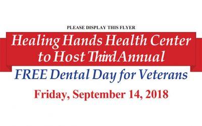 3rd Annual Free Dental Day for Veterans