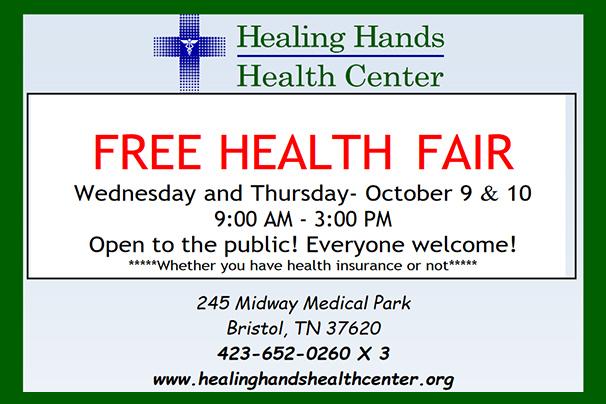 Free Health Fair